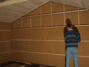 Isolanat isolation cologique roanne combles loire 42 for Doublage mur interieur